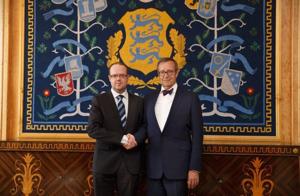 Juhan Sarv ja Toomas Hendrik Ilves