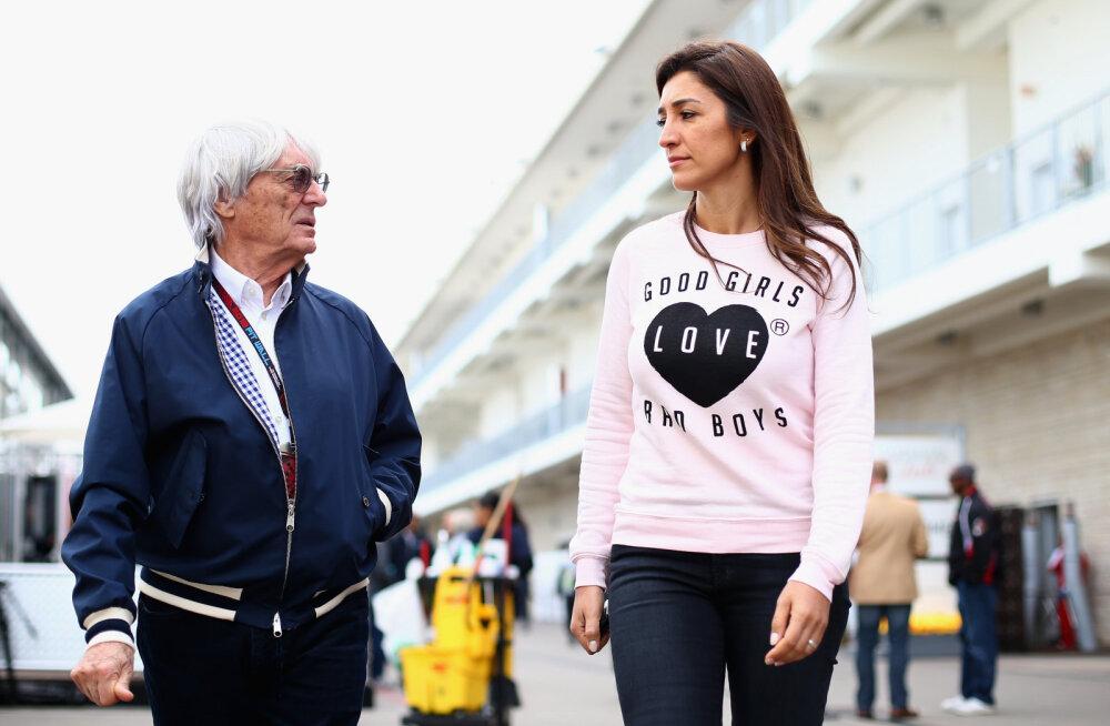 89-aastaselt neljandat korda isaks saav Bernie Ecclestone: ilmselt saan talle palju rohkem aega pühendada kui oma vanematele tütardele