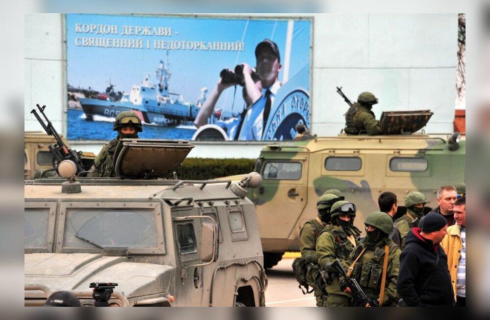 Eraldusmärkideta sõjaväelased Krimmis