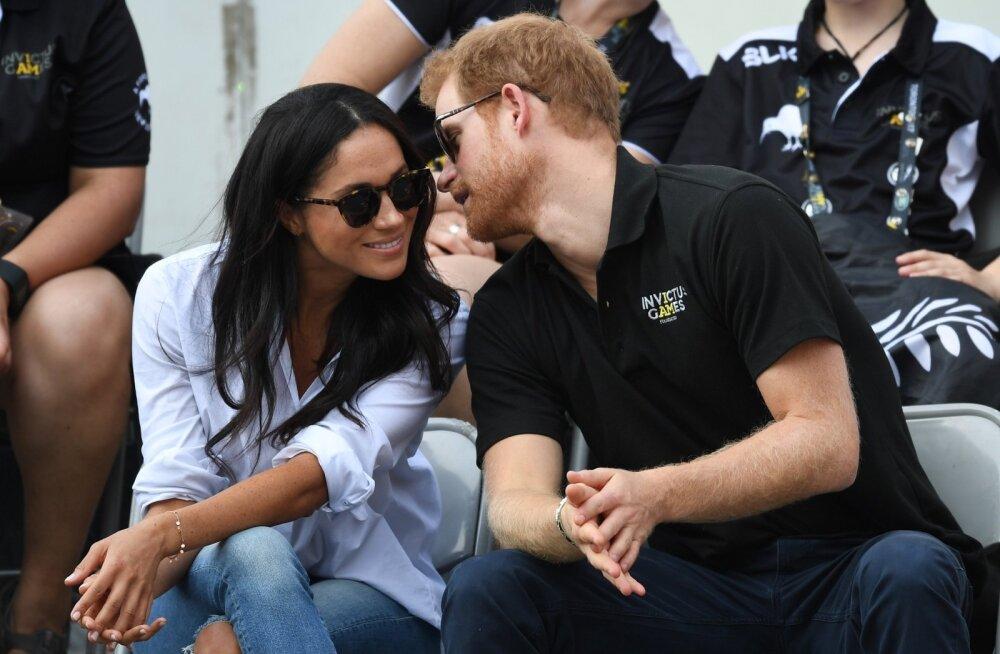 Prince Harry ja Meghan Markle esmakordselt käsikäes