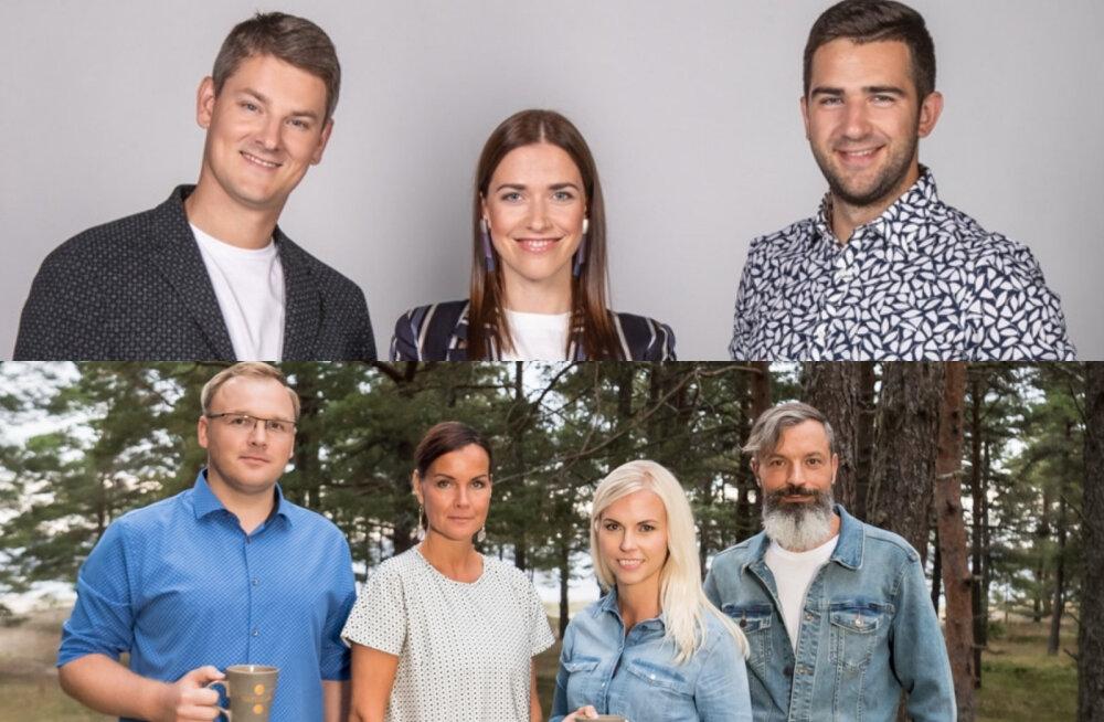 """Kelle äratus oli parem? Ehk 5 suurimat erinevust """"Terevisiooni"""" ja Kanal 2 uue saate """"Hommik!"""" vahel"""