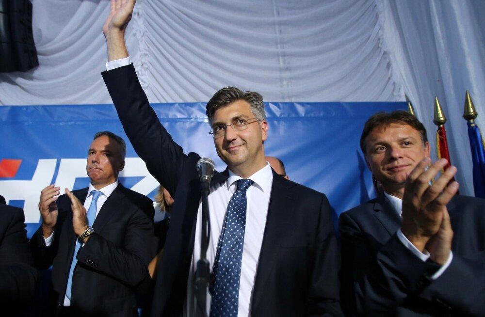 Horvaatia parlamendivalimisi on võitmas konservatiivid
