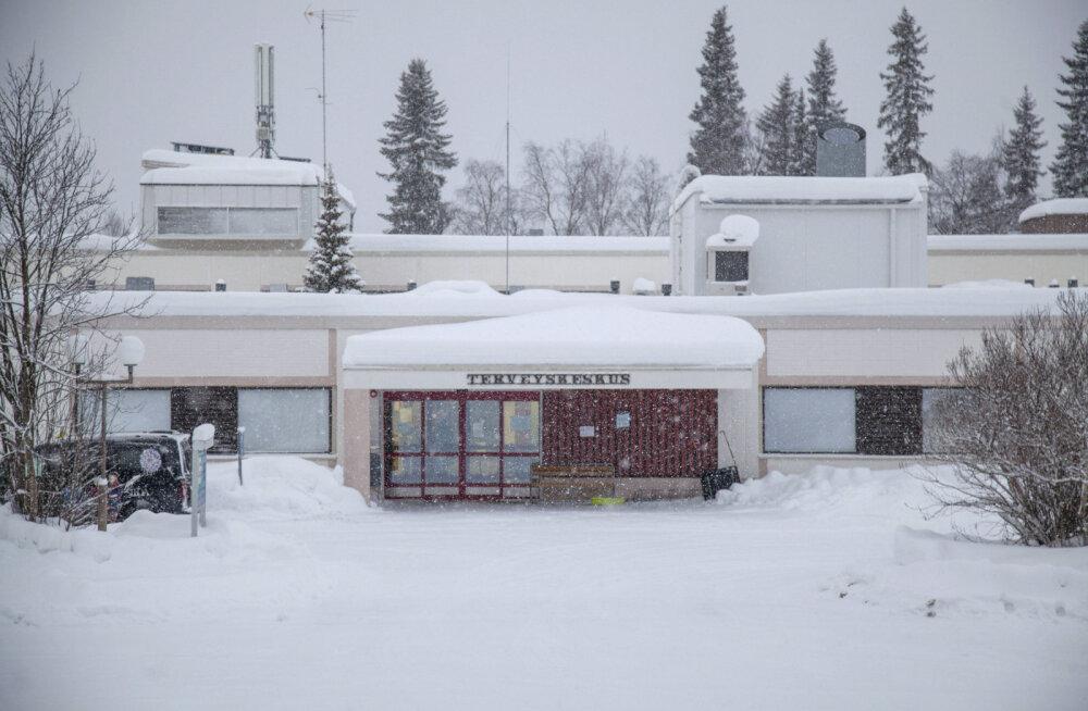 Ivalo tervisekeskus Soomes.