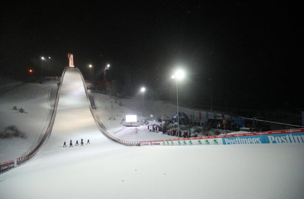 Эстонский этап Кубка мира по лыжному двоеборью снова отменен