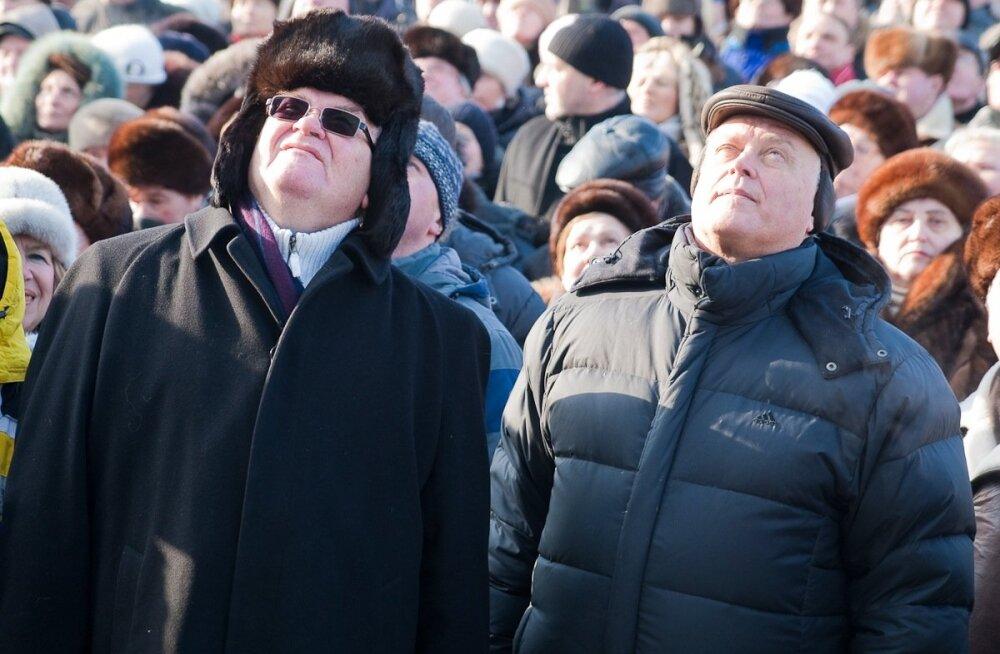 Edgar Savisaar ja Vladimir Jakunin