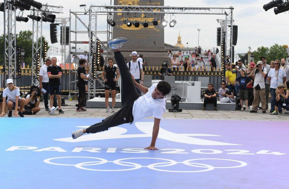 Eesti breiktantsijad seadsid eesmärgiks 2024. aasta Pariisi olümpiamängud