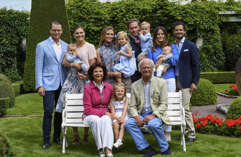Rootsi kuningas Carl XVI Gustaf jättis osa lapselastest kuninglikust perekonnast välja