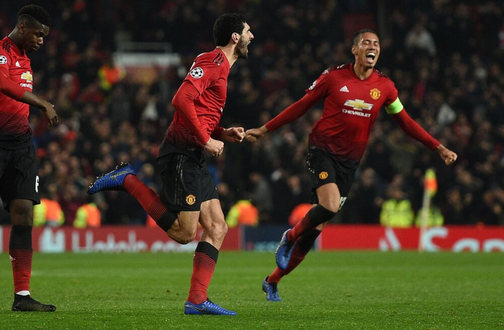 BLOGI | Meistrite liiga: Manchester United kindlustas viimase minuti väravast edasipääsu, Madridi Real alistas võõrsil Roma