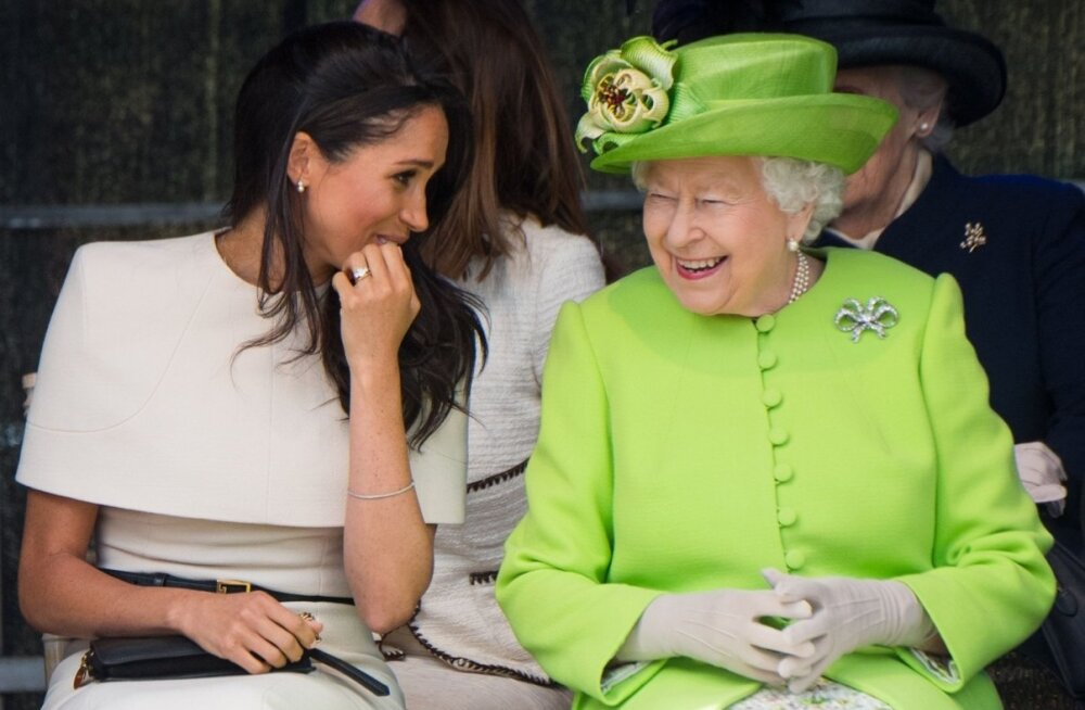 Hertsoginna Meghan ja kuninganna Elizabeth II