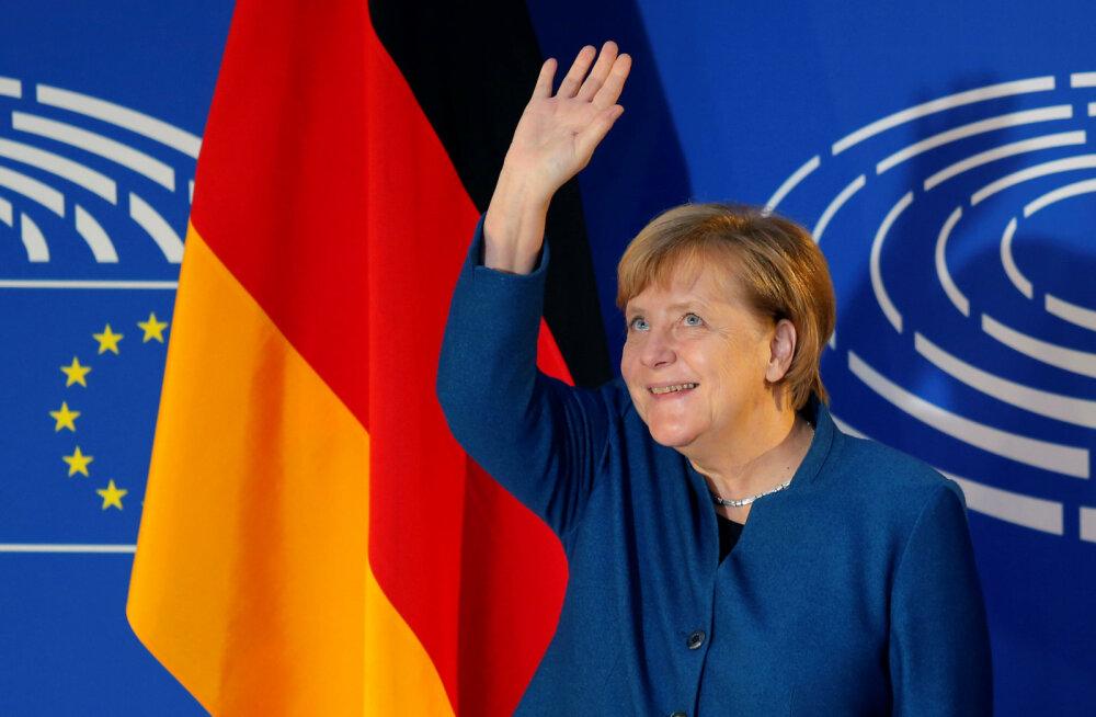 Merkel europarlamendis: migratsioon on Euroopa ühine ülesanne