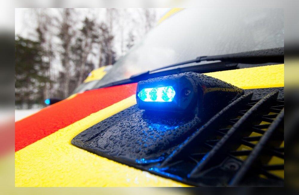 В Тартумаа нетрезвого велосипедиста сбила машина
