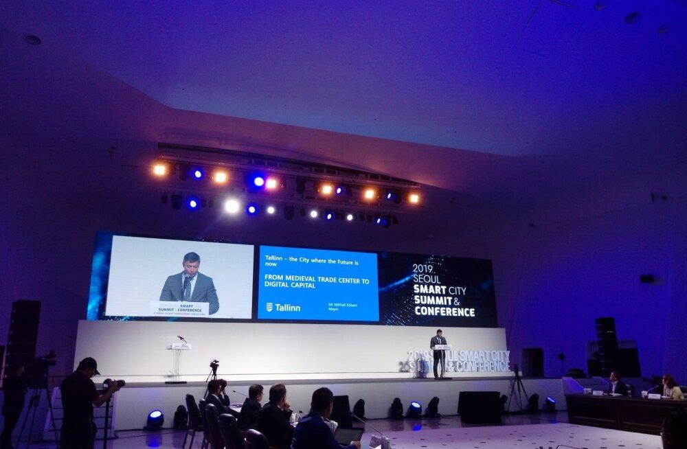 Михаил Кылварт призвал в Сеуле предпринимателей тестировать свои инновации в Таллинне