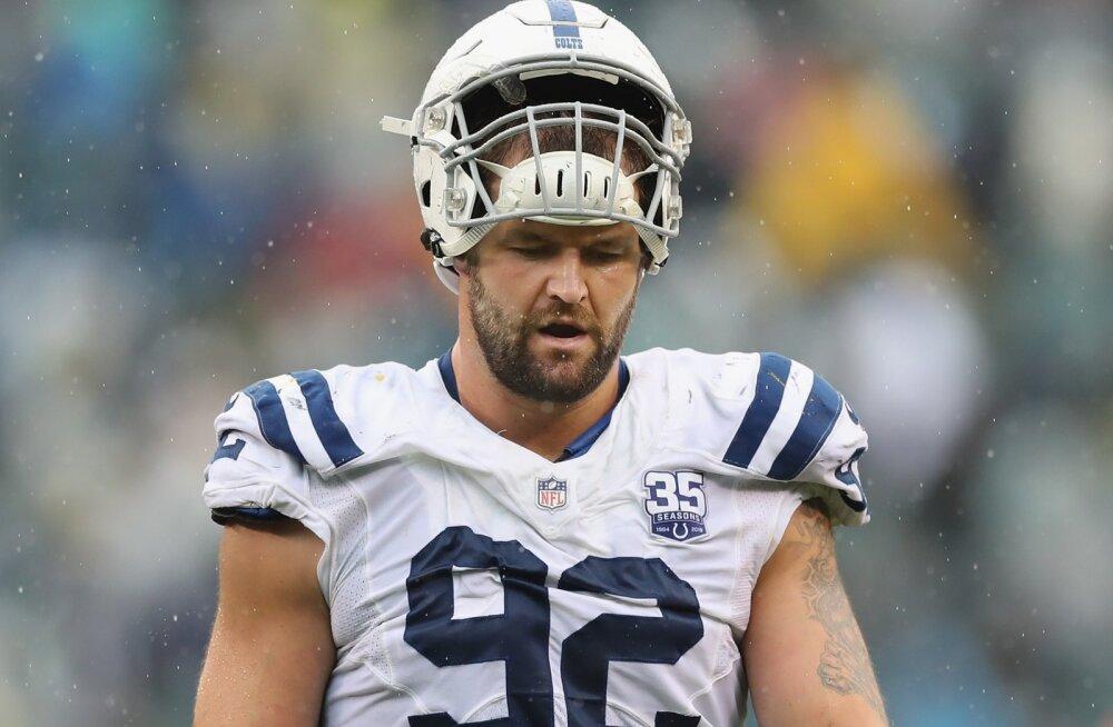 Colts sai üle kolme aasta teise võidu järjest, Hunt lasi võimaluse käest ning jäi nullile