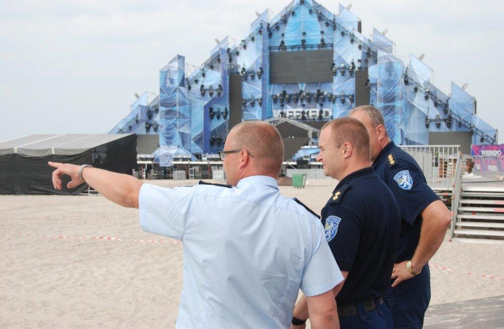Politsei Weekendi avapäeval