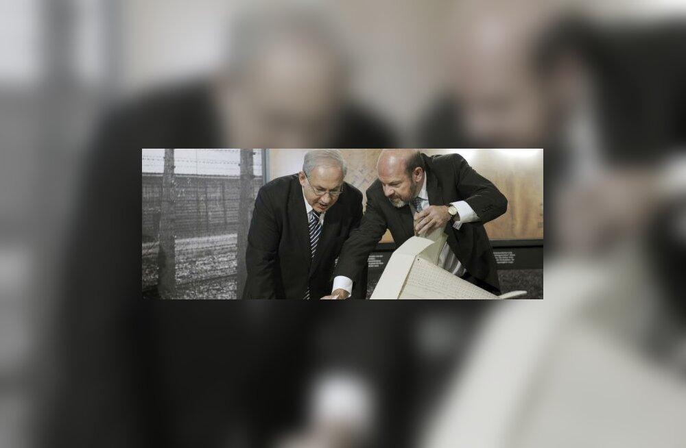 Iisraeli peaministrile anti üle Auschwitzi joonised