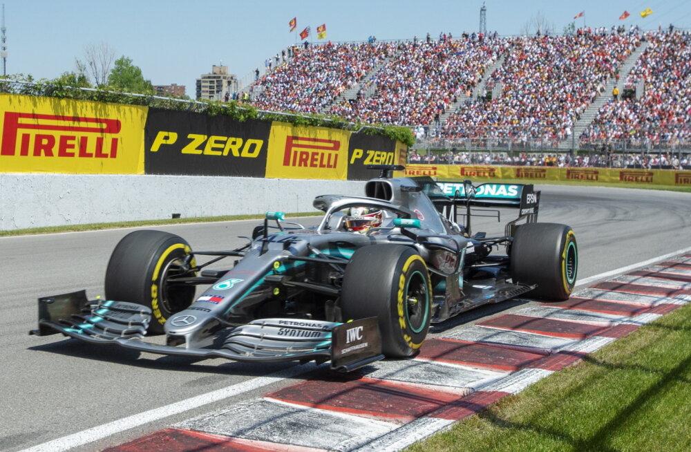BLOGI   Hamiltonile järjekordne etapivõit, kohtunikelt karistada saanud Vettel lõpetas teisena