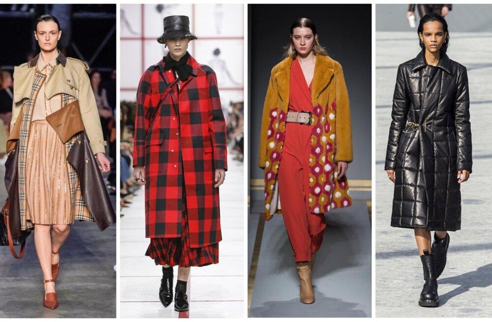 Цветная кожа, панамы и искусственные шубы: 10 главных трендов осенне-зимнего гардероба