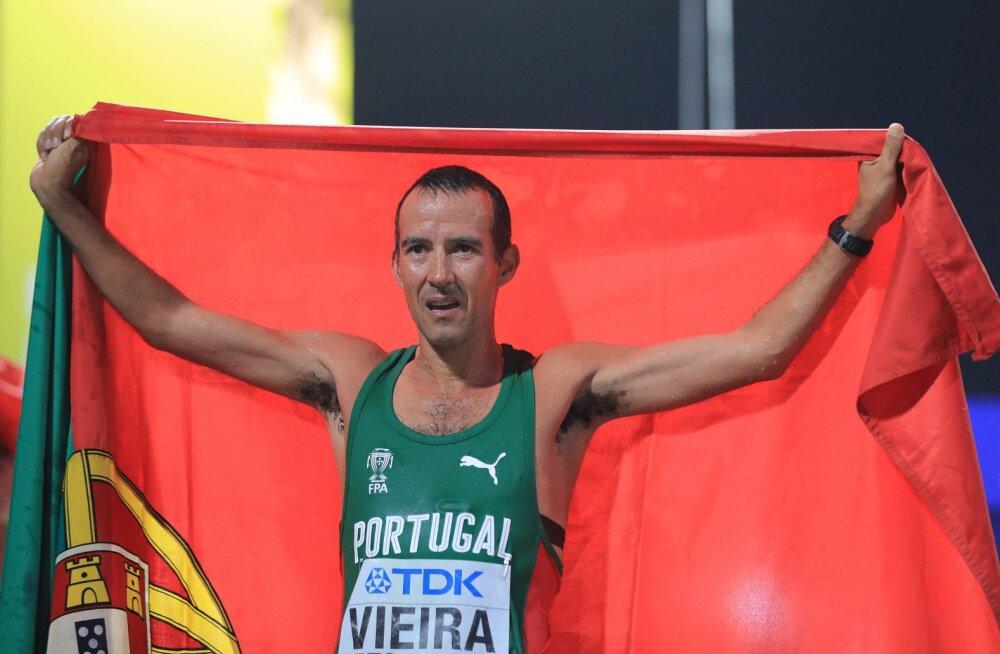 Doha MM-il ajalugu teinud portugallane: võistlesime nii hilja, et inimesed lahkuvad sel ajal juba ööklubist