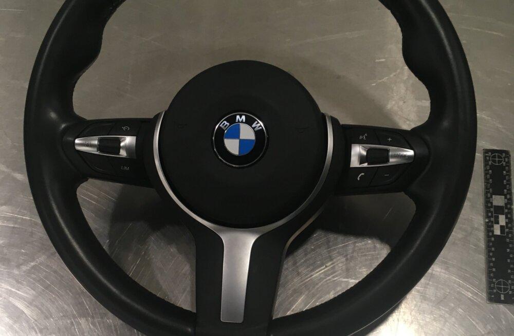 Soomes tabati BMW-sid puudutanud varguste sarjas kahtlustatav Eesti elanik