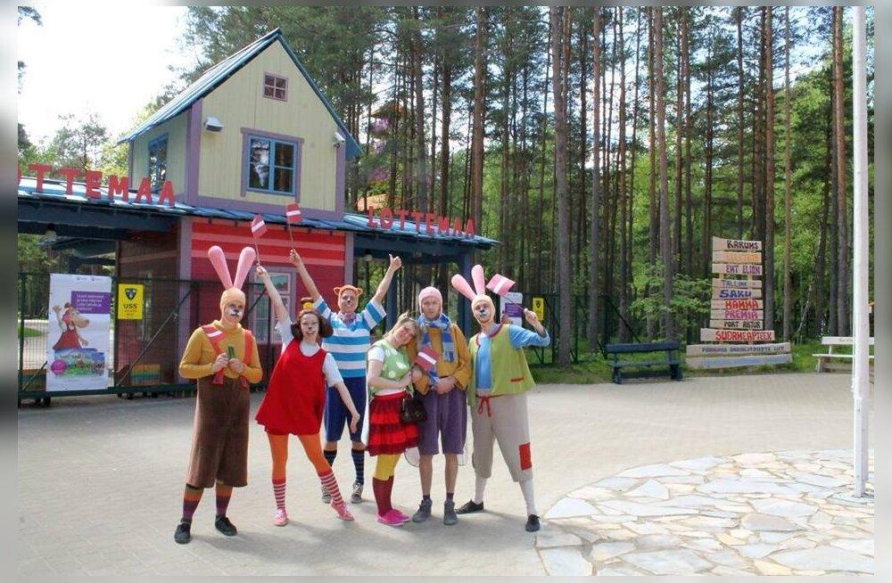 Lottemaa meelitab lätlasi rohkem kui eestimaalasi - avapäevadel oli üle poole külastajatest Lätist