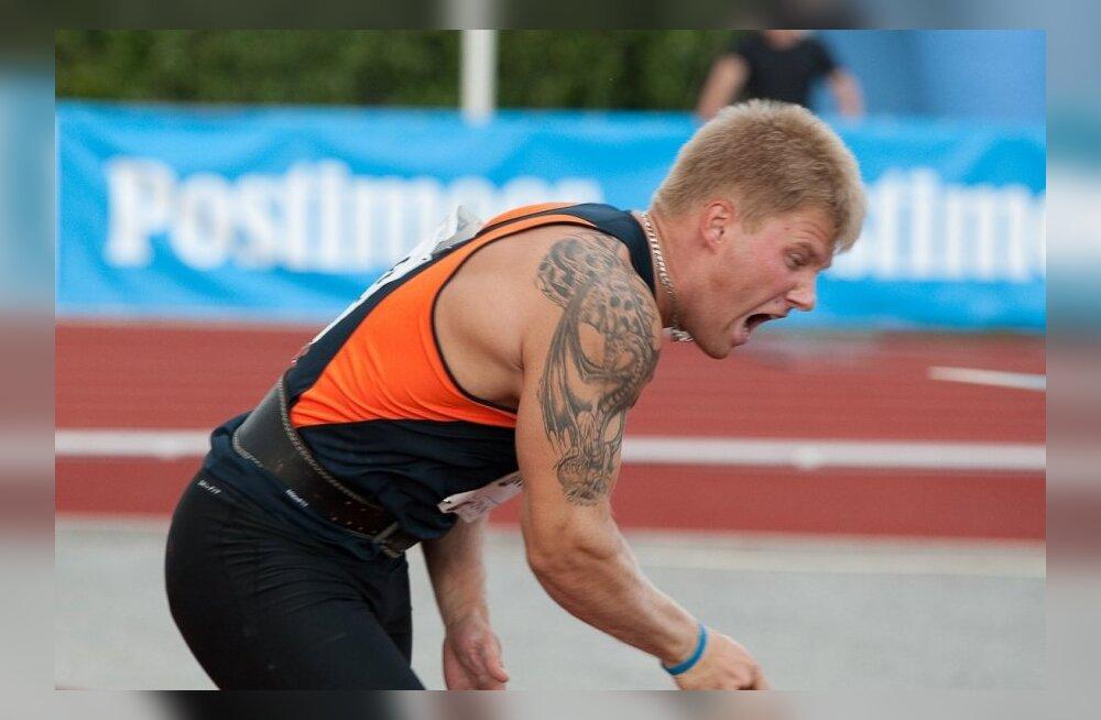 FOTOD: Tanel Laanmäe täitis odaviskes olümpia B-normi