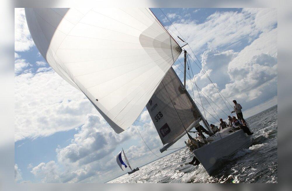 Muhu Väina regatil selguvad täna Eesti meistrid avamerepurjetamises