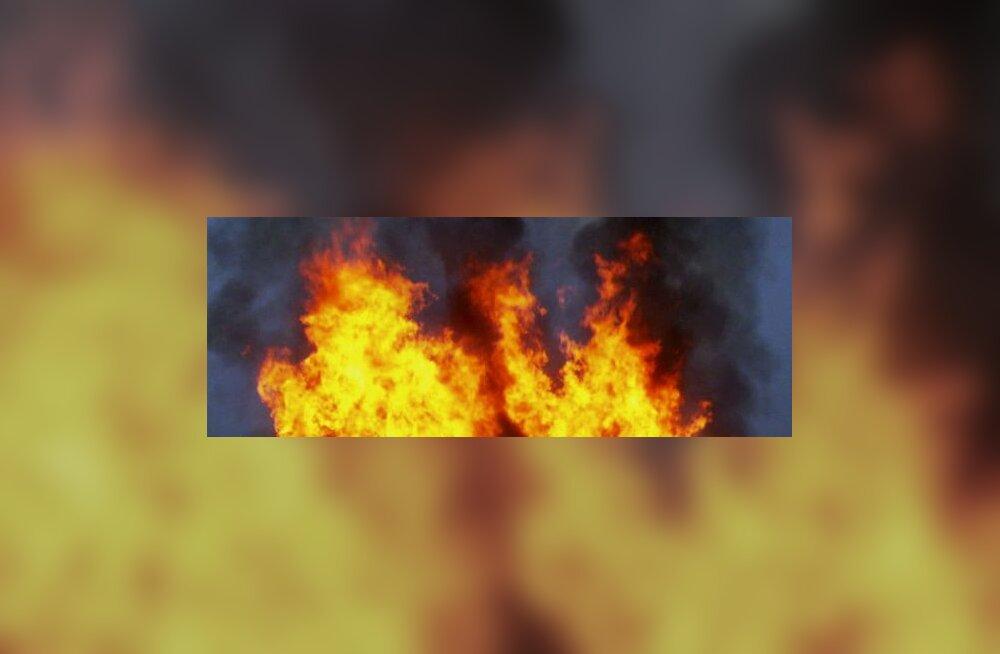 Paides leiti põlevast majast surnud mees