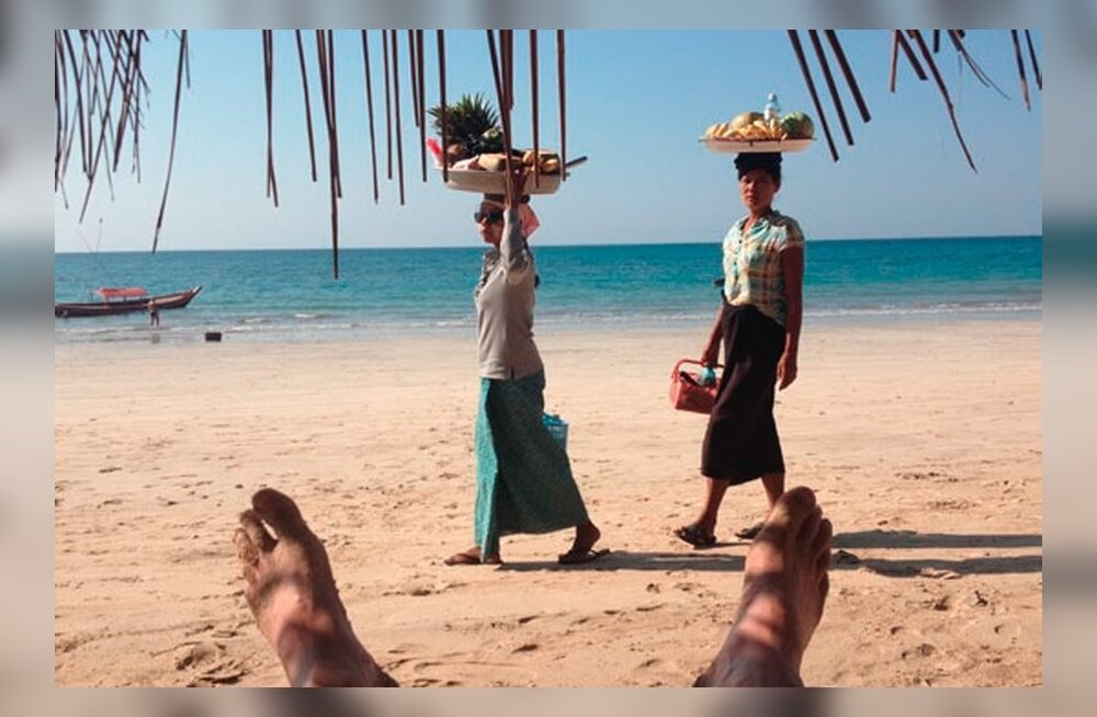 Kalliskivi nimega Birma