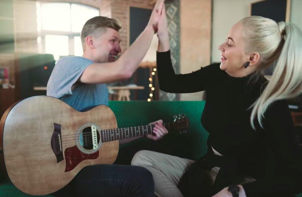 Mõnus! Kuula, kuidas Kerli Kivilaane Eesti Laulu võistluslugu akustiliselt kõlab