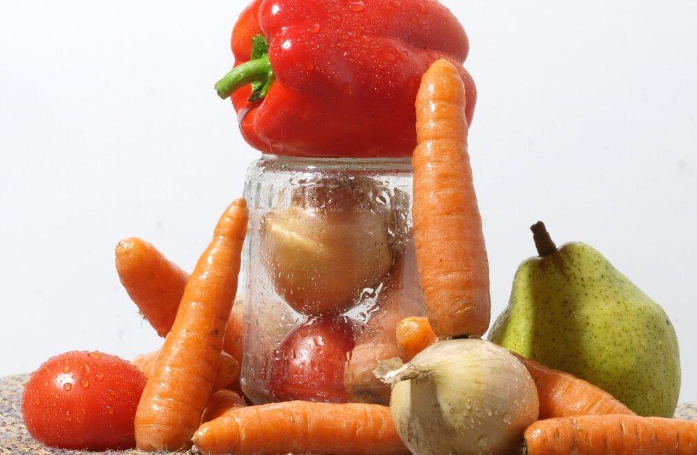 Teadlased: sa peaksid sööma kümme portsjonit puu- ja köögivilja päevas!