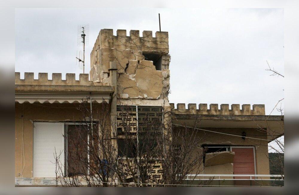 Kreeka saart raputas tugev maavärin
