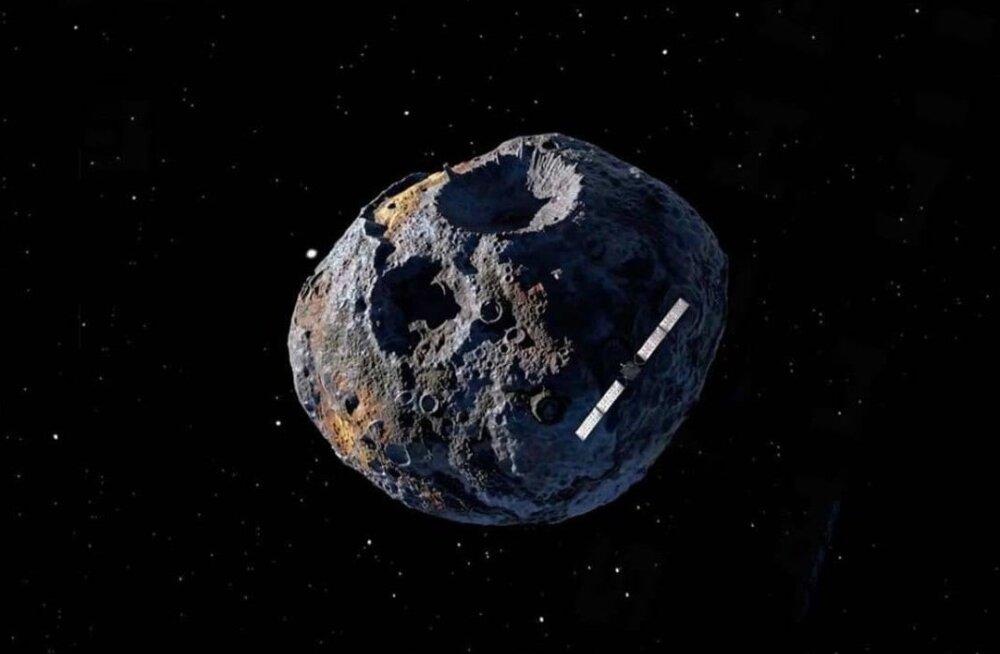(16) Psyche – asteroid, mida kaevandades võiks teenida 8530 kvadriljonit eurot