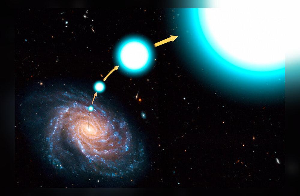 Fotomontaaž: NASA, ESA, and G. Bacon (STScI)