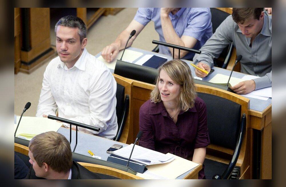 Andrei Korobeinik ja Kaja Kallas