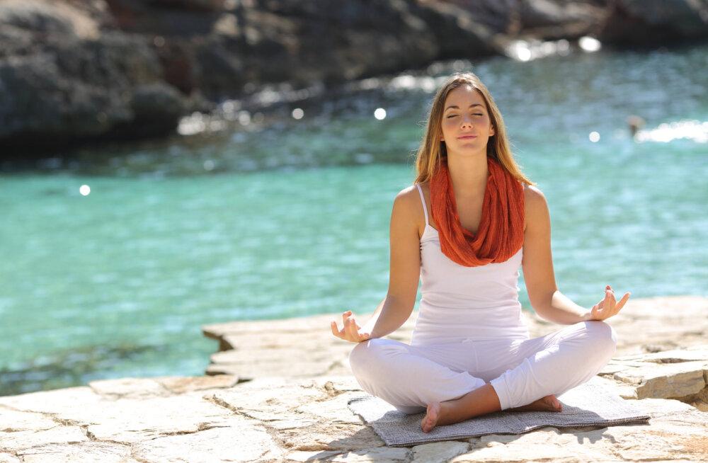 Viis põhjust sügavalt kõhuga hingata
