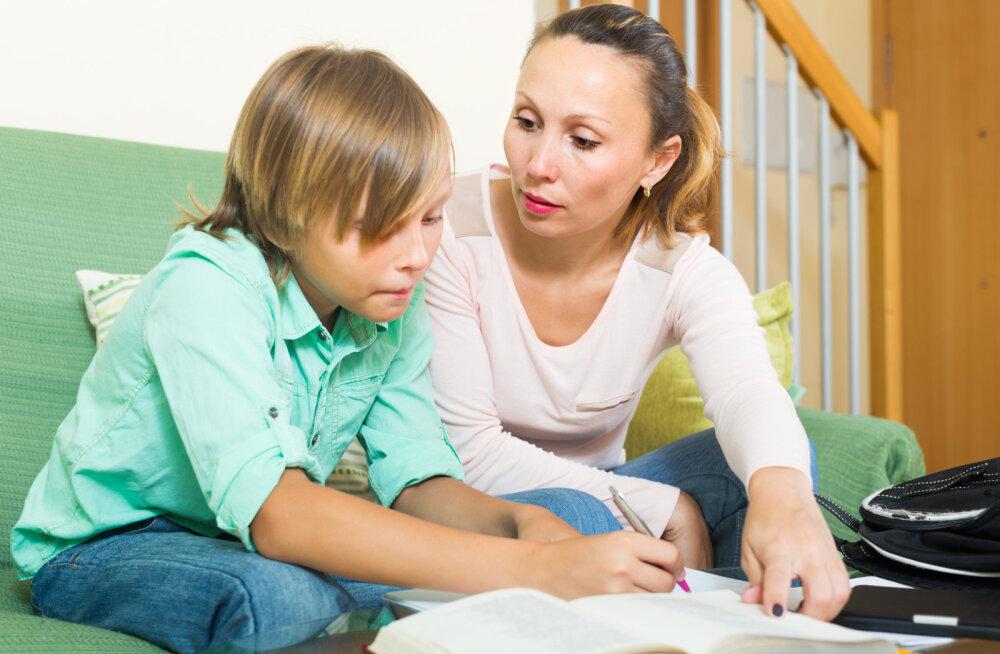 Mida teed sina, kui laps tuleb koju kehva tunnistusega?