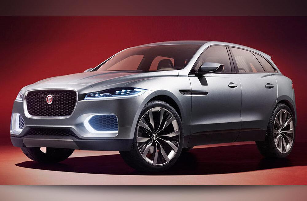 Jaguar näitab Frankfurti autonäitusel oma esimest maasturit