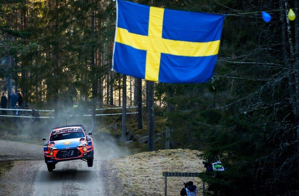Ott Tänak Rootsi ralli testikatsel