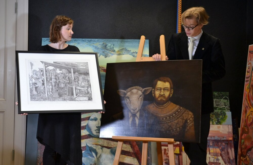 Tartus saab näha noore kunsti oksjonile toodud töid