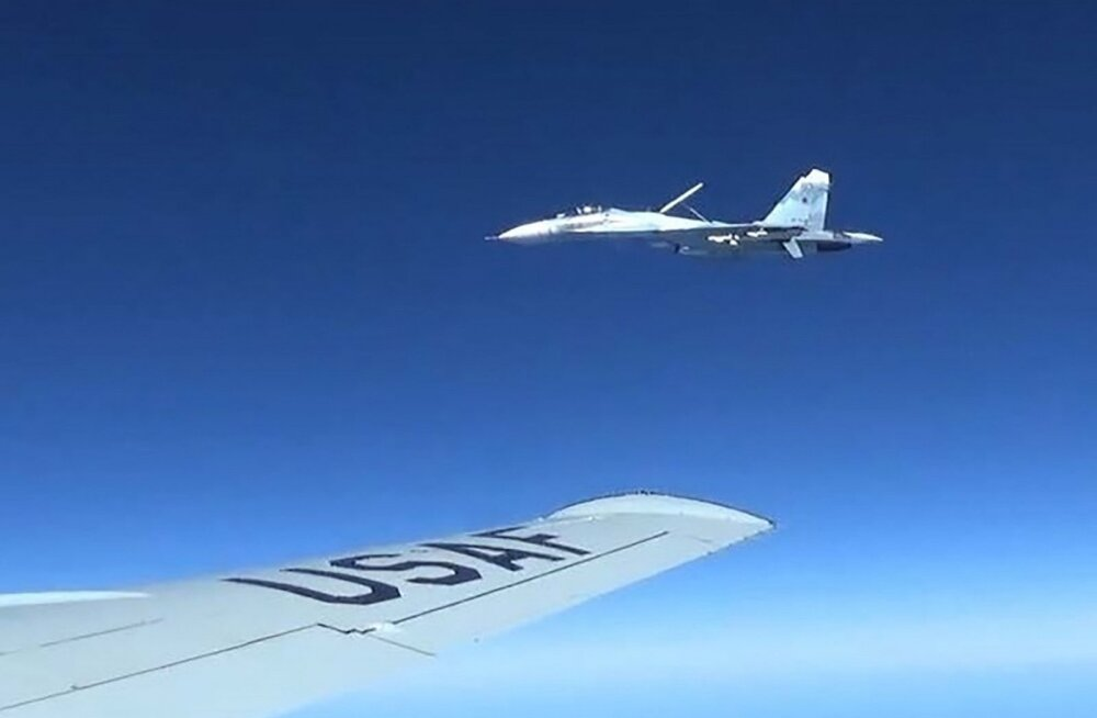 Инцидент над Балтийским морем: российский истребитель приблизился к американскому самолету