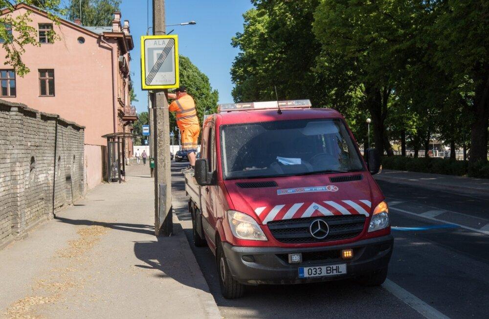 Tartus muutub parkimiskord