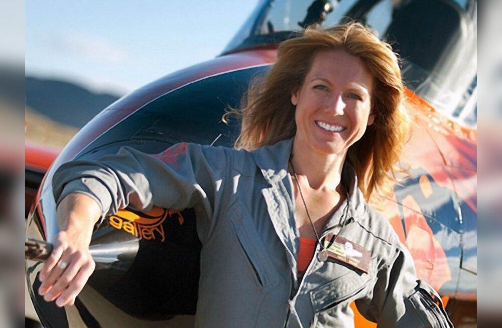 USA naispiloot oli valmis kaaperdatud lennukit rammima