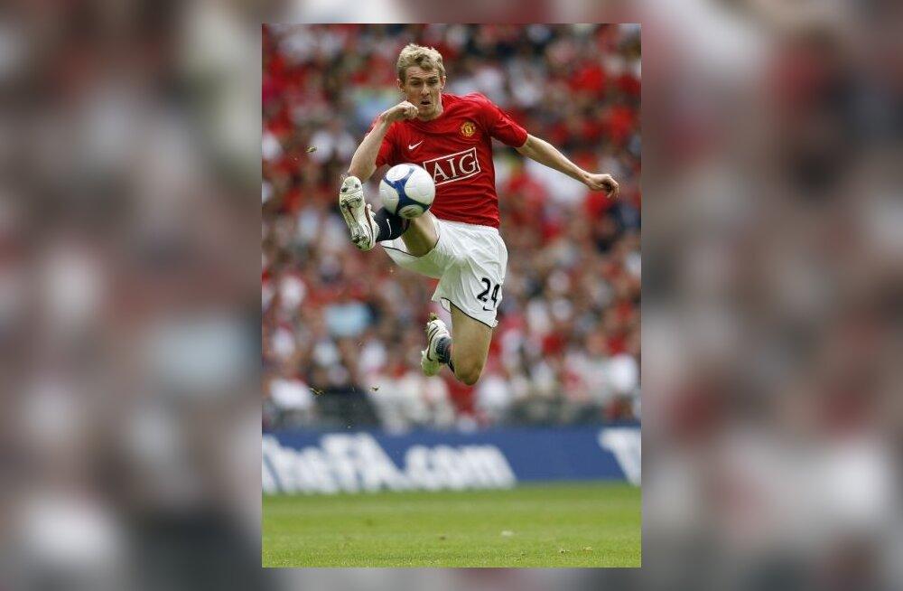 Manchester Unitedi Darren Fletcher