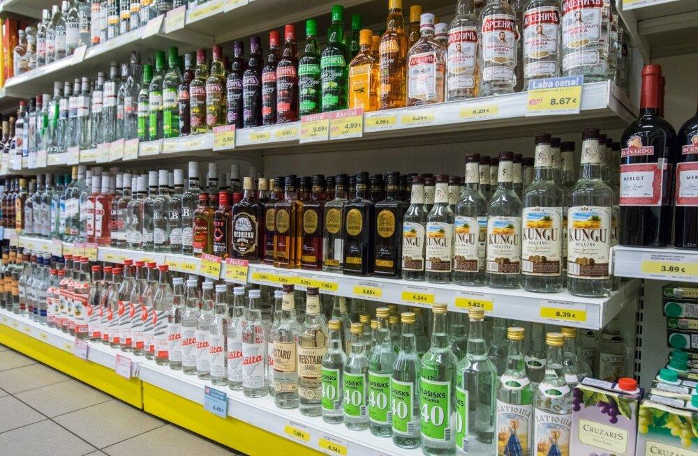 Alkoholiaktsiisi laekumine kasvas juulis üle 50 protsendi