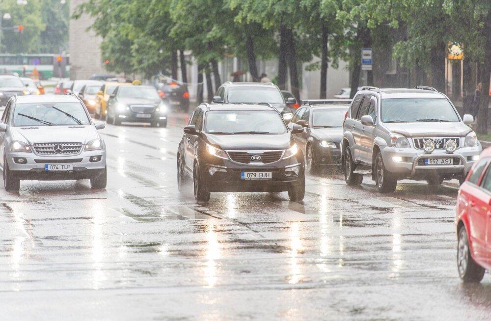 Vihmane ilm 2014