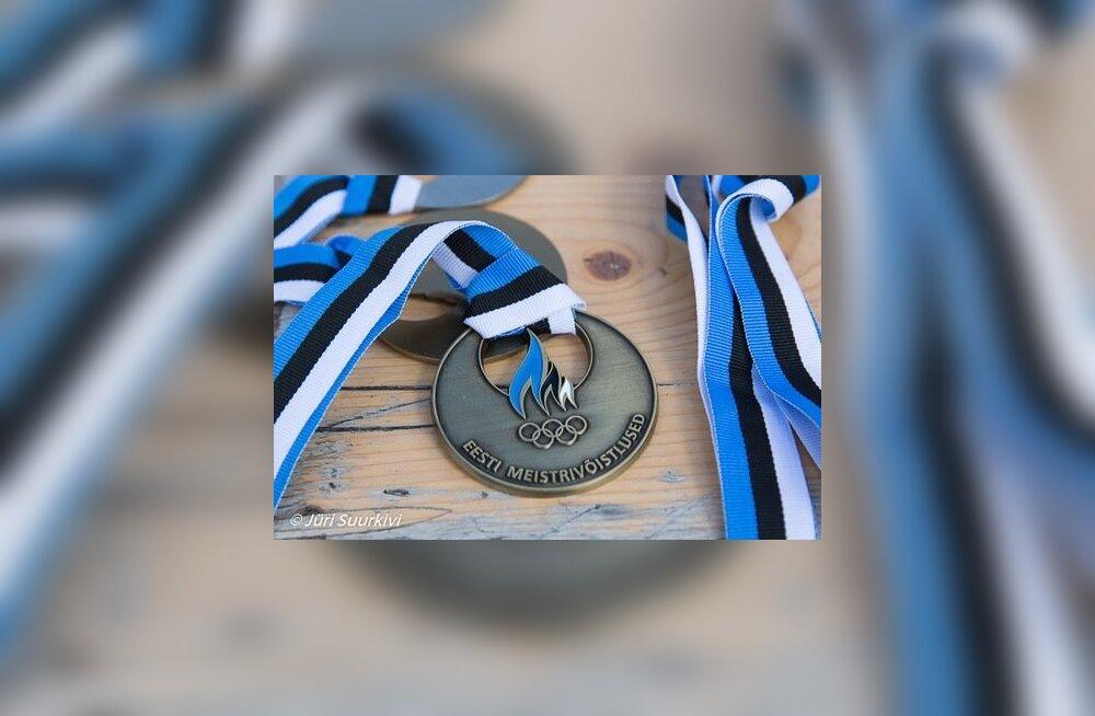 Triatloni meistrivõistluste medal