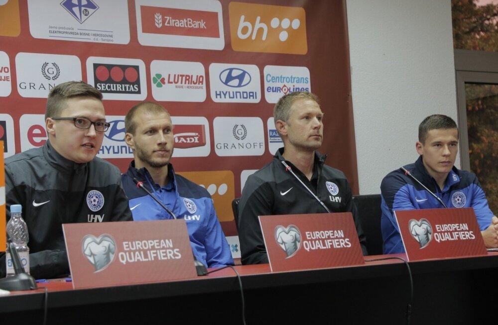 Eesti koondise pressikonverents