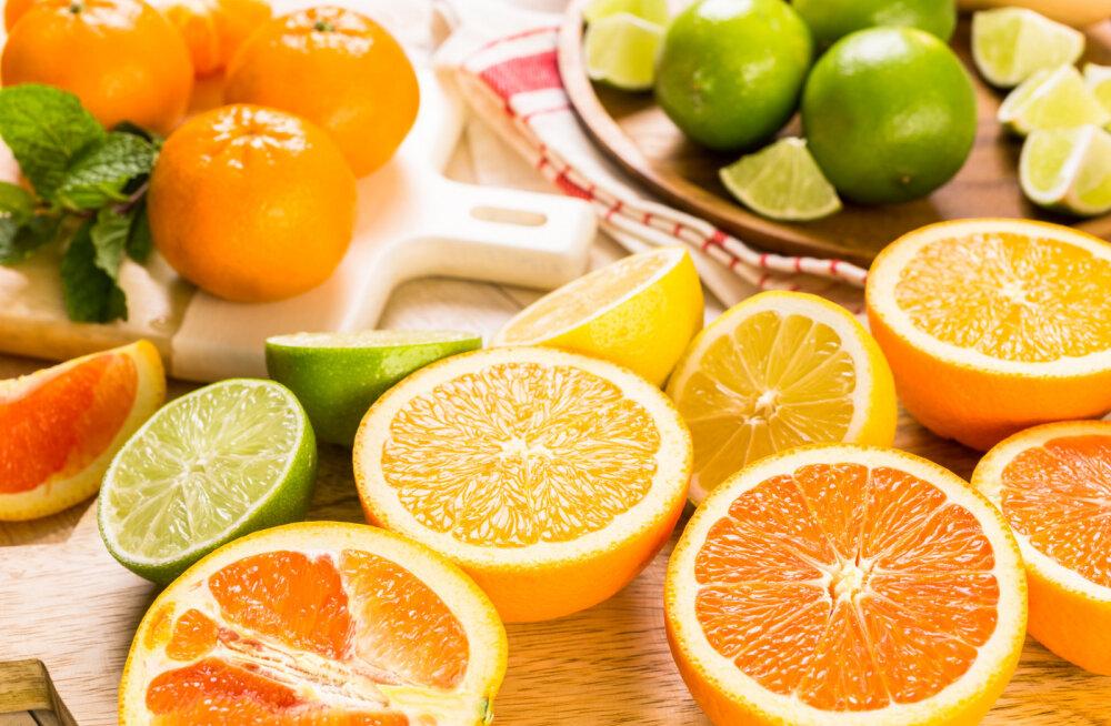 Kõrge C-vitamiini tase hoiab ära insuldi ja infarkti