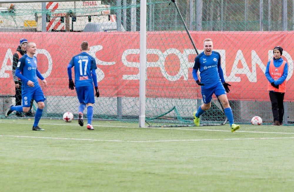 FCI Tallinn vs Tartu Tammeka Sportlandi Arenal