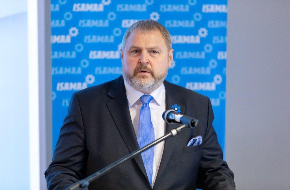 Terras tutvustas Isamaa programmi: Eesti peab EL-is võitlema uute ja vanade erineva kohtlemise vastu